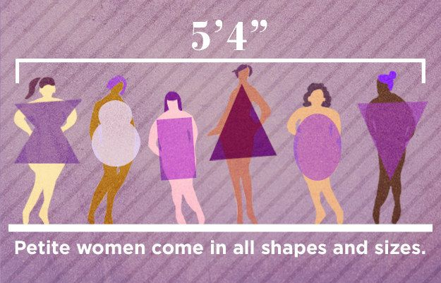 """First things first: """"Petite"""" doesn't just mean short and slim. 