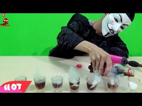 Experiment with Carbon Dioxide C02 and Coca  || Video Kids Nursery Rhyme...