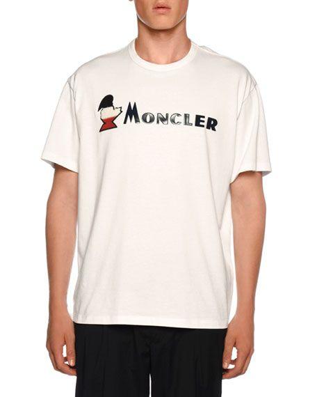 a8db40d76 MONCLER Men's Graphic Jersey T-Shirt. #moncler #cloth | Moncler in ...