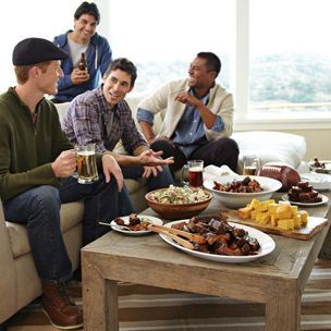 Williams-Sonoma: Super Bowl party recipes. Appropriately creative and awesome.
