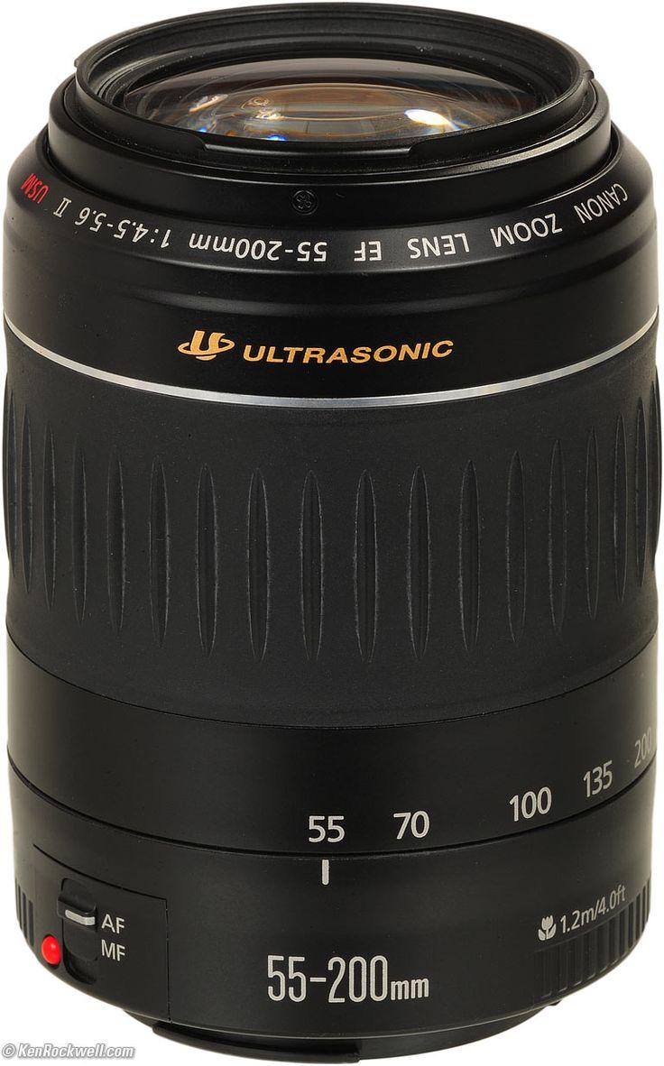 Canon 55-200mm USM