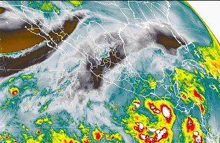 Alerta en 11 estados del país por depresión tropical 20-E - http://www.tvacapulco.com/alerta-en-11-estados-del-pais-por-depresion-tropical-20-e/