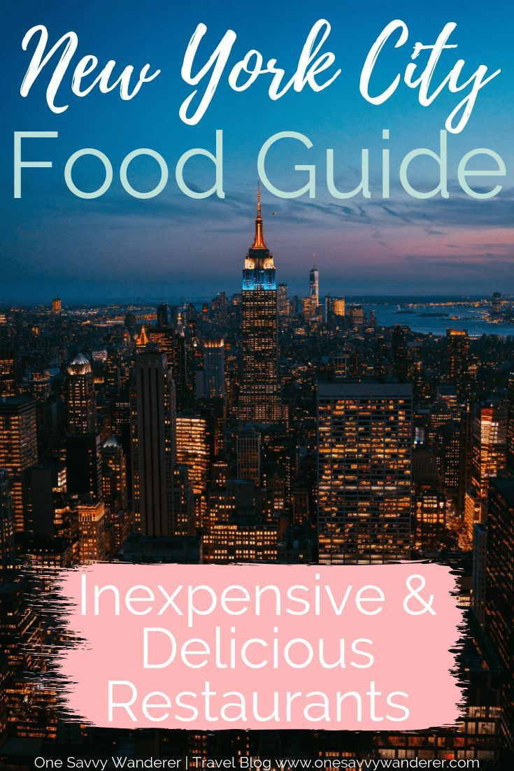 Best Affordable Restaurants In Nyc 2019 Travel New York