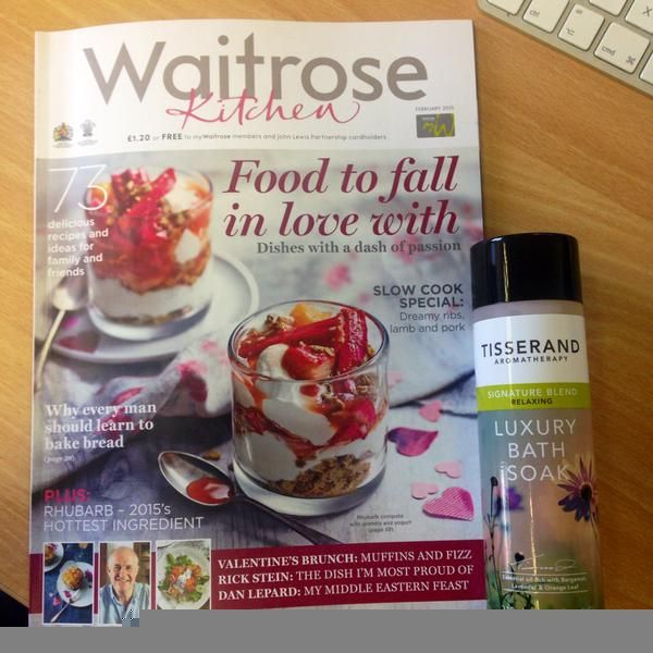 Look what made it into the latest edition of waitrose magazine. | www.tisserand.com