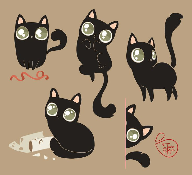 Character Design - My Cat by MeoMai.deviantart.com on @DeviantArt