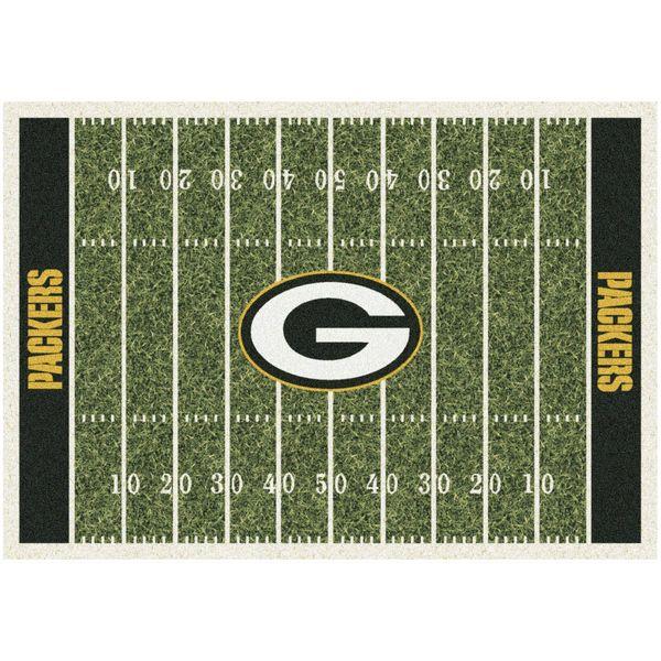 "Green Bay Packers 46"" x 64"" Homefield Rug - $111.99"