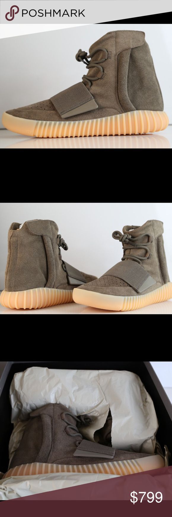 Adidas X Kanye West Yeezy Boost 750 Light Brown didas X Kanye West Yeezy Boost 750 Light Brown Chocolate Gum BY2456 Brand New Never Worn 100% Authentic adidas Shoes Athletic Shoes