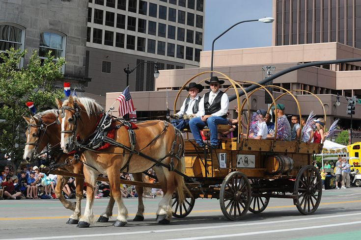 Days Of 47 Rodeo And Ksl 5 Parade Celebrated On The 24th