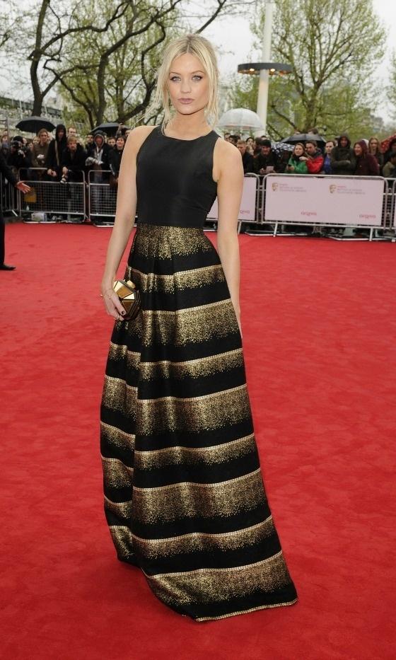 LAURA WHITMORE-BAFTAS 2013