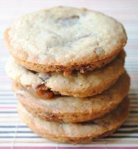 Deep Dish Caramel Apple Milky Way Cookies