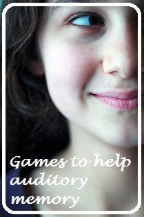 ONLINE RESOURCE - games to support auditory memory