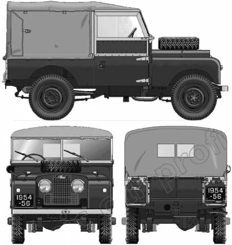 Land Rover 86 Series 1 (1954)