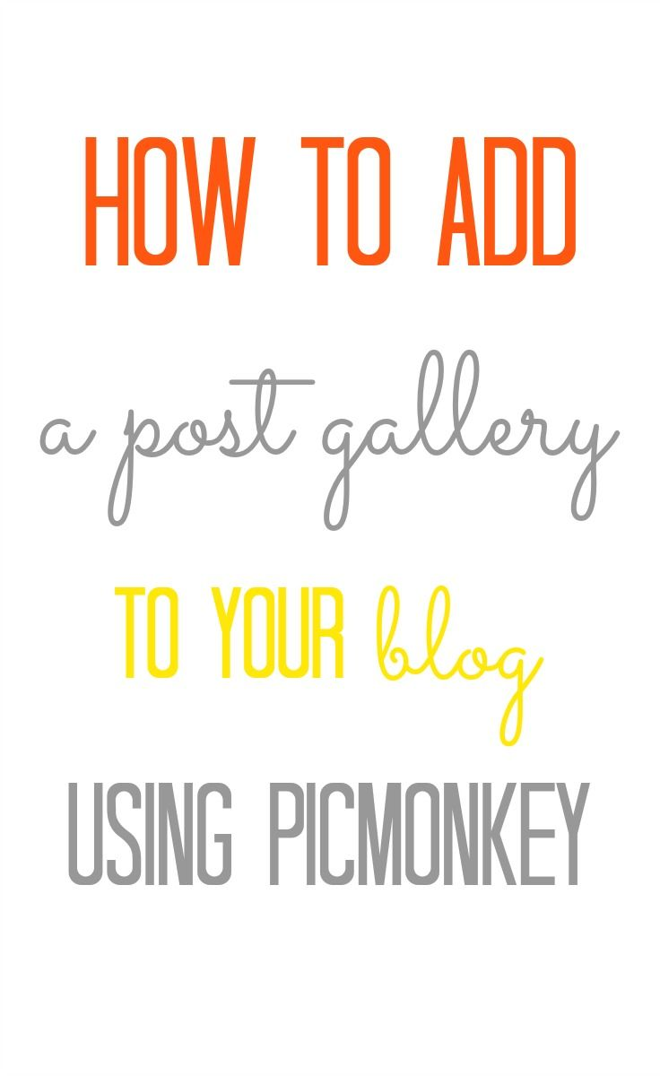 How to Add A Post & Image Gallery to Your Blog