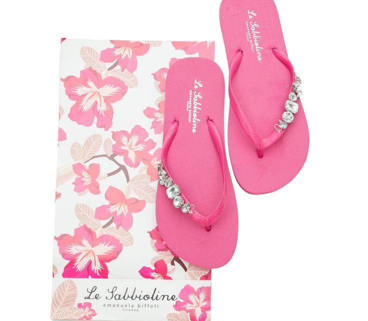 "Sabbioline Hawaii con gioiello ""Emanuela Biffoli"""