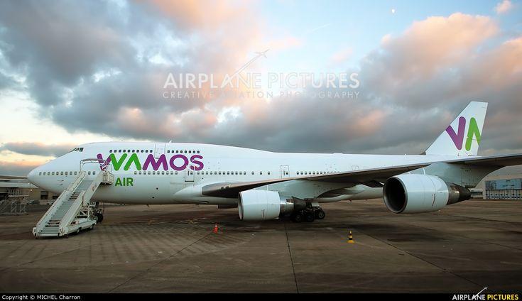 Wamos Air EC-KSM aircraft at Paris - Orly photo