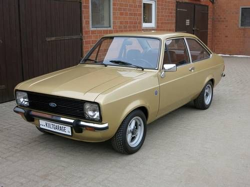 Ford Escort MK2 (1980) Maintenance/restoration of old/vintage vehicles: the material for new cogs/casters/gears/pads could be cast polyamide which I (Cast polyamide) can produce. My contact: tatjana.alic@windowslive.com