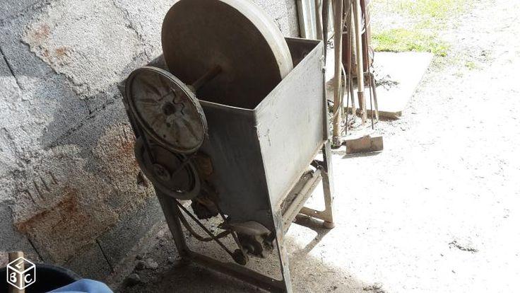 Touret à meuler à eau.fabrication maison