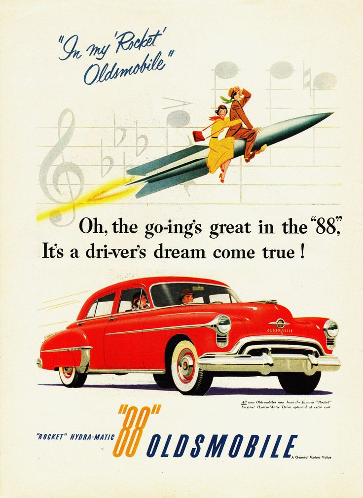 Vintage Car Advertisements Of The (Page
