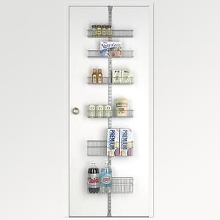 Platinum Elfa Utility Door U0026 Wall Rack System Components. Container StoreThe  ...