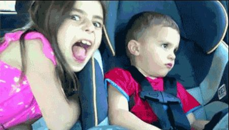 But not this kid. Never stop this kid. | 22 Siblings Who Need To Be Stopped. She did not see that coming