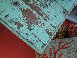 DIY Antiquing Furniture