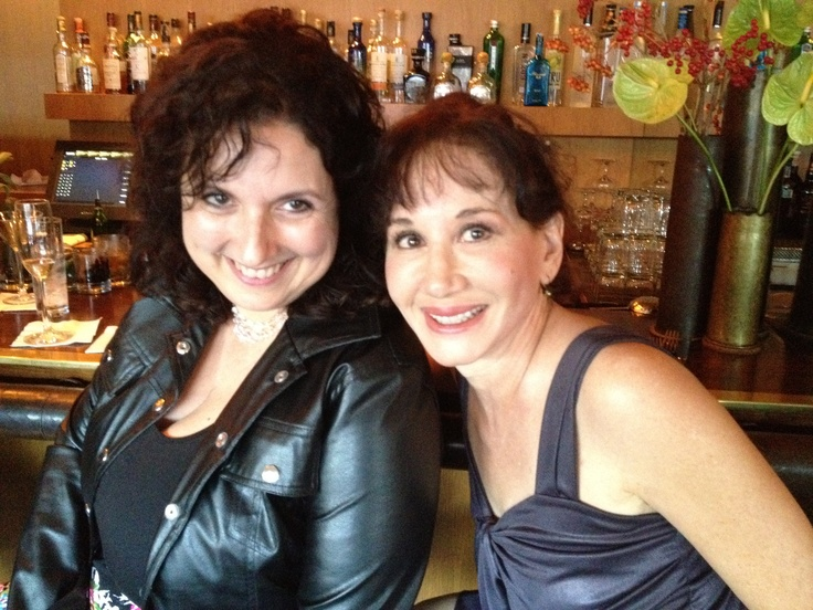 The marvelous Sally Shore! & me