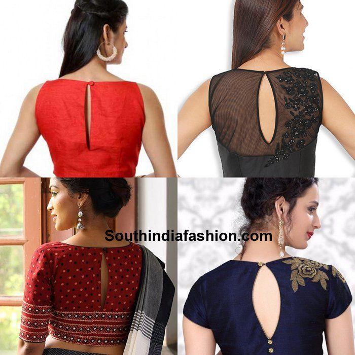 back slit saree blouse 600x600 photo