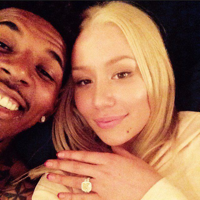 Pin for Later: Iggy Azalea Is Engaged! Watch Nick Young Pop the Question During His 30th Birthday Party