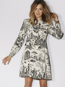 Fearne Cotton Toile De Juoy print dress