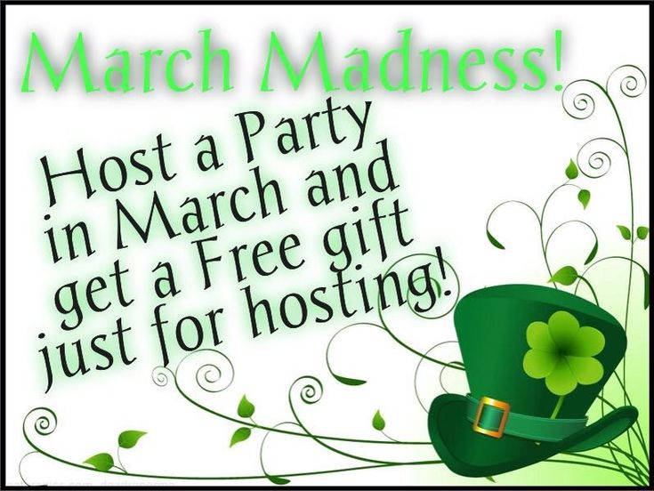 March Madness Host A Party Free Gift