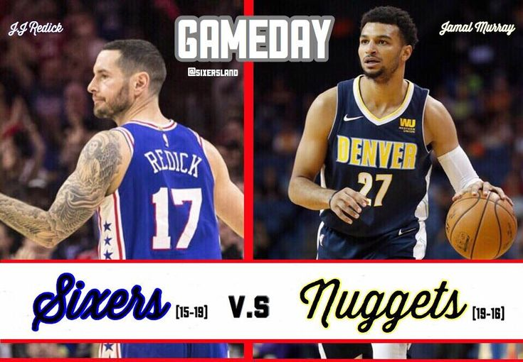 Its GAMEDAY!! The #Sixers look to escape The Pepsi Center with a win against a rebuilt Denver Nuggets team. This is no easy win so the Sixers must work for it. Being on the road is tough but i believe we should get this win as it is highly needed. Going 5 games below .500 is very hurtful confidence wise so hope the our 76ers can get the job done. Keys to the Game :  1. Limit Turnovers 2. Focus and dont make stupid mistakes 3. Make our possesions count  #ttp
