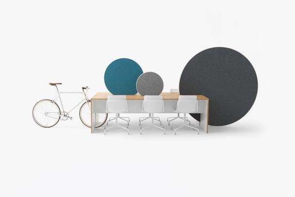 """""""Rolling Workspace"""", Entwurf: Nendo, Kokuyo. (Foto: Akihiro Yoshida)"""
