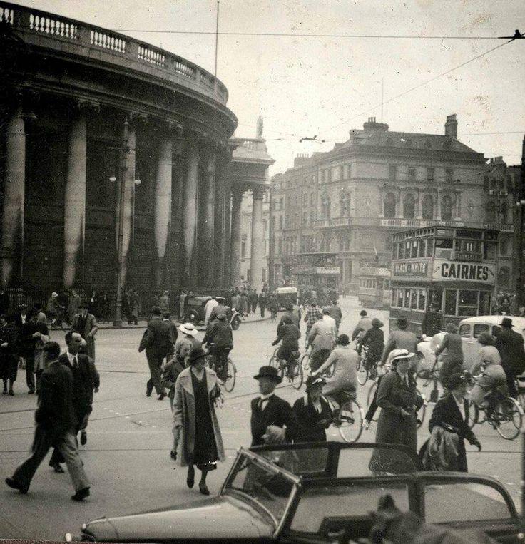 College Green, Dublin 1930s