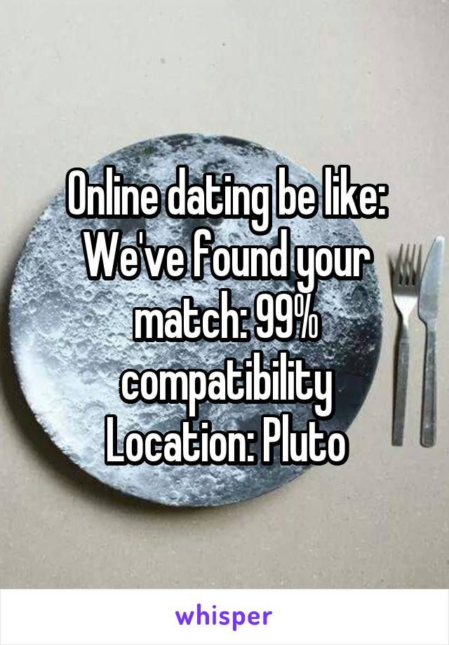 What have we found from online dating