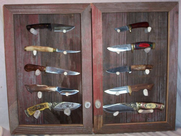 Best 25+ Knife Display Case Ideas On Pinterest