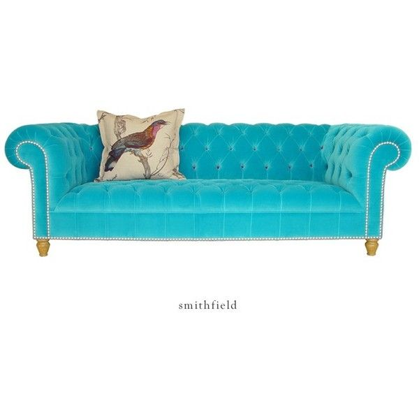 Smithfield Chesterfield Sofa Liked On Polyvore