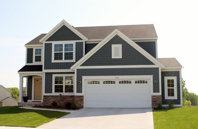 midnight surf siding color - Google Search | House color ideas | Pinterest | Siding colors ...