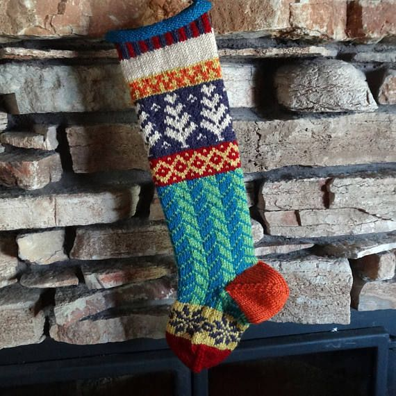 Personalized Christmas Stocking Knit Christmas Stockings