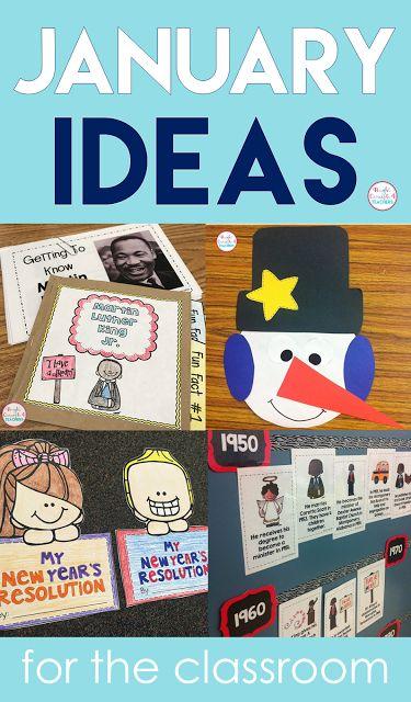 January Bright Ideas for the Classroom |