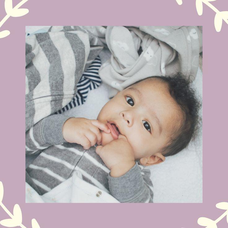 Babies tend to move from light sleep (REM) to deep sleep ...