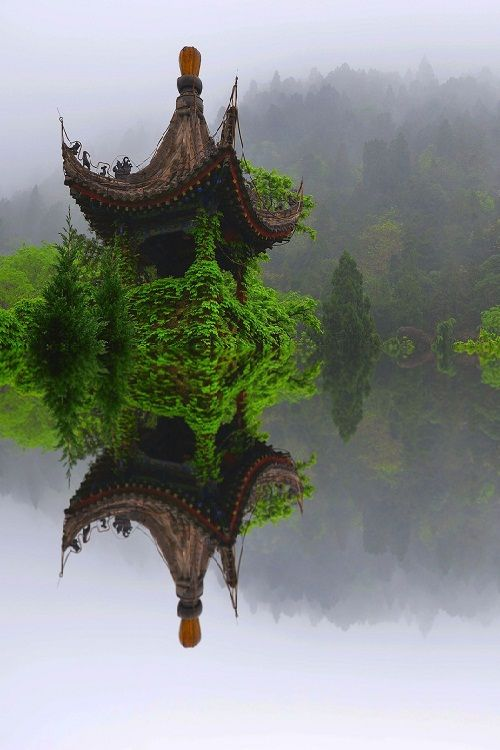Ivy Temple, Xian, China