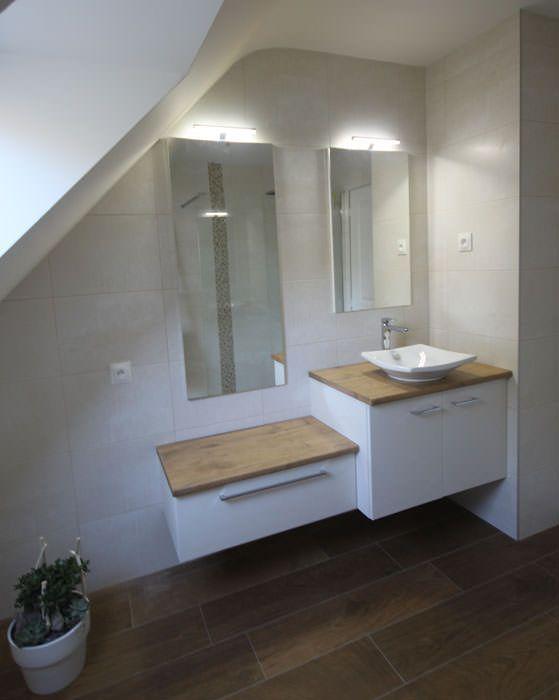 23 best Agencement Salle de Bains Sous Combles images on Pinterest - sous couche salle de bain