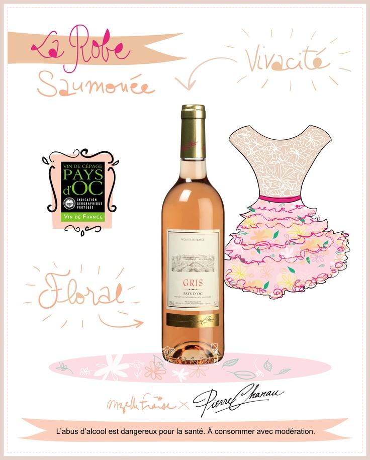 Gris Pierre Chanau Pays d'Oc IGP #vin #rose #wine #gris #chanau #summertime