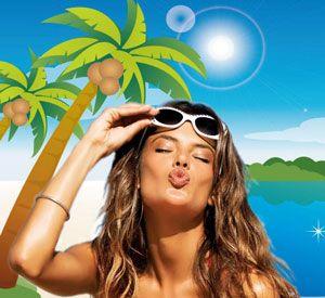 Как пользоваться косметикой летом
