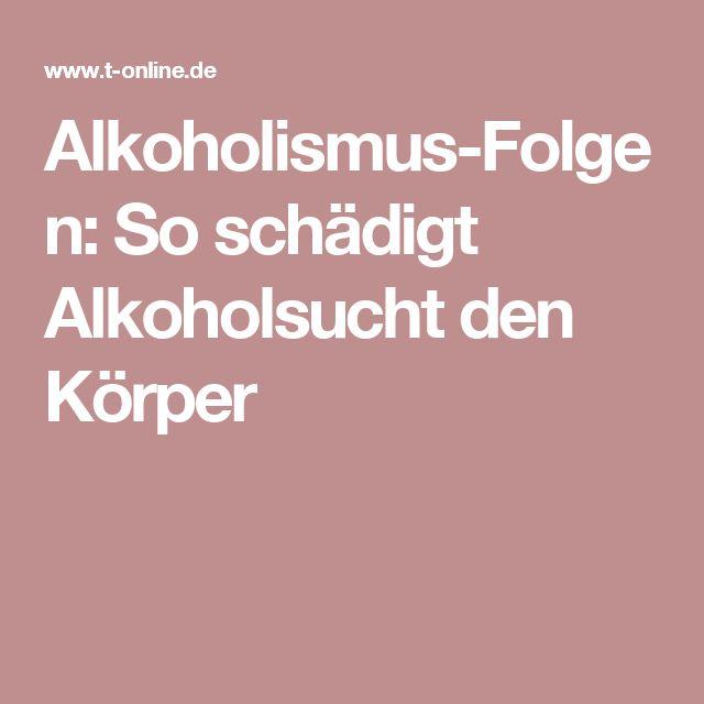 Alkoholismus-Folgen: So schädigt Alkoholsucht den Körper