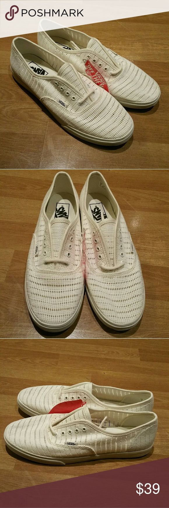 Womens Vans sneakers Brand new. Size 9.5. Never worn. Vans Shoes Sneakers