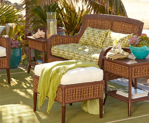 Shop Pier 1 Outdoor Furniture: The Antigua Bay Collection.