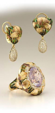 Ilgiz set of Earrings and Ring - Hет предела для идеи и её воплощения... | ilgiz.dewdori.com Ilgiz Fazulzyanov