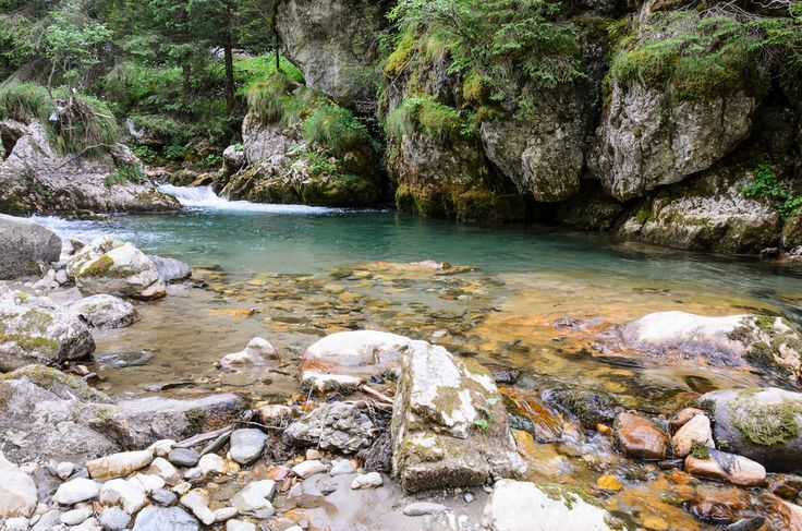 Bucegi Mountains. #Mountains #River #Travel