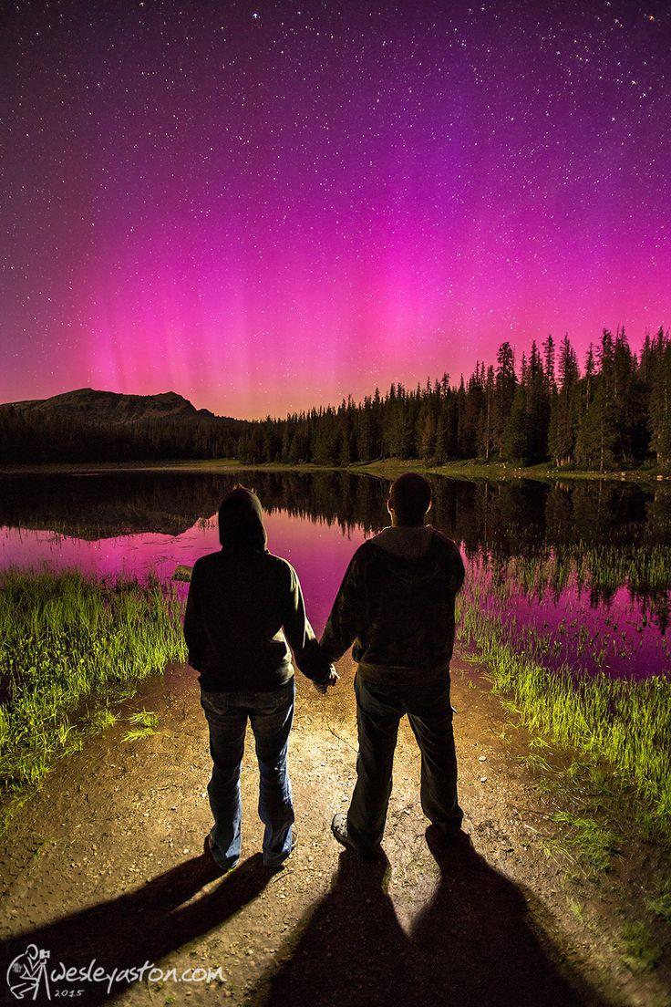 Northern Lights in Utah by Wesley Aston on 500px